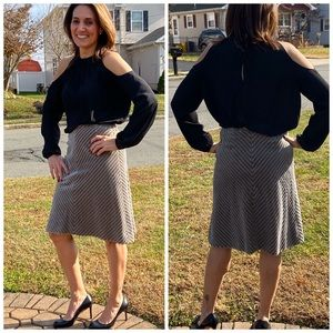 Vintage and fab!  Auth Chanel plush skirt!